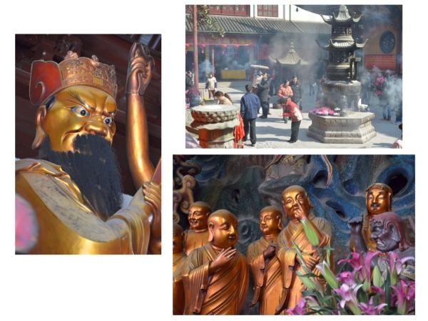 Im Tempel waren wir auch, das war im Jadebuddha Tempel. (Der Buddha kommt beim nächsten Post)