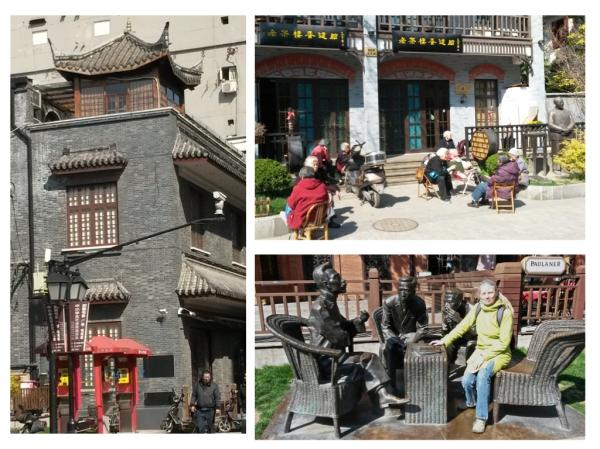 Literaturstrasse, hier wurde chinesische Literaturgeschichte geschrieben, die Dichter sitzen immer noch.