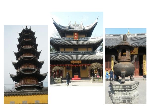 Longhua Temple (Tempel der Drachenblume)
