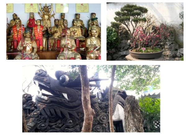 Drache im Yu - Garten