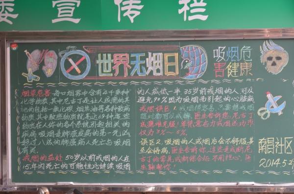 Hier stehen die Verhaltensregeln am Eingang des Wohnviertels, gemalt von Müttern aus dem Lilong