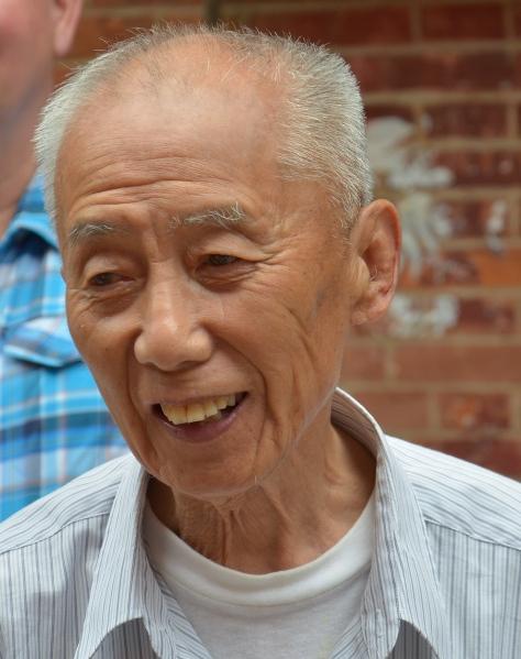 Ein alter Bewohner des Lilong