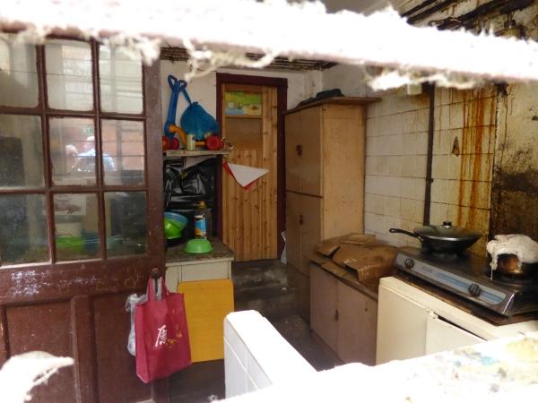 Blick in eine Küche