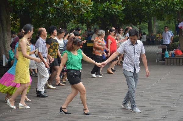 Ein Tänzchen am Samstagnachmittag