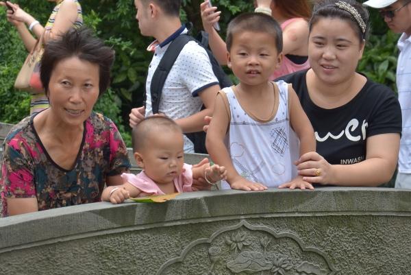 Familienausflug mit 3 Generationen