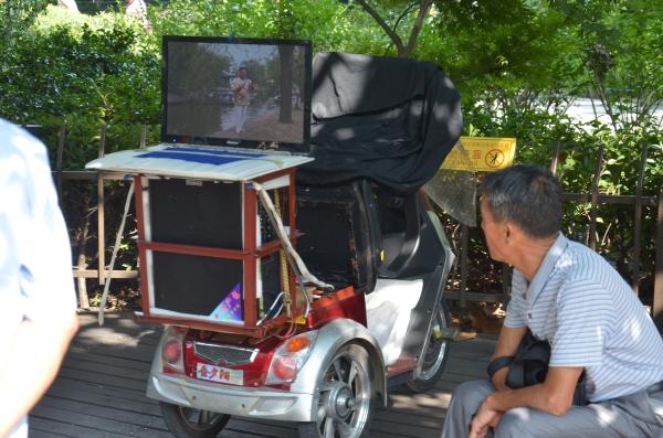 Das mobile Karaokegefährt